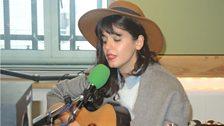 Katie Melua sings live