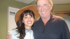 Katie Melua with Sir Terry