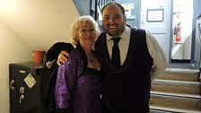 Marilyn Hill Smith and Wynne Evans ...