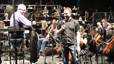 Russel Watson in Rehearsal