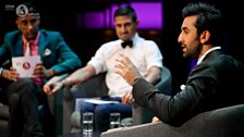 Raj and Pablo with Ranbir Kapoor