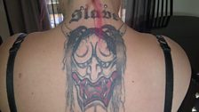 Kazz has this tattoo on her back plus many others