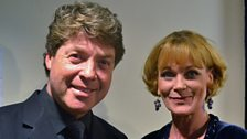 Nick Davies and Samantha Bond