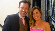Hadley Fraser and Louise Dearman