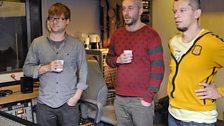 Kimmo Pohjonen, Alex Bonney and Dave Smith