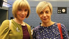 28 September 2013: Lucy Worsley with Miranda Sawyer