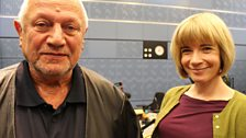 28 September 2013: Steven Berkoff & Lucy Worsley