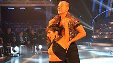Julien Macdonald and Janette Manrara