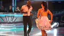 Patrick Robinson and Anya Garnis