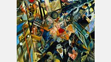 George Grosz - Tempo der Strasse (The Tempo of the Street), 1918