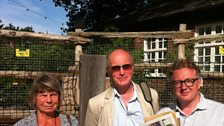Margaret Drabble and Iain Sinclair with Matthew Sweet