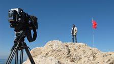 Filming in Van