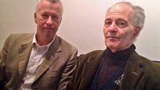 John Wilson and Frank Auerbach