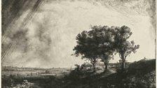 Rembrandt Harmensz. van Rijn (1606-1669), The Three Trees