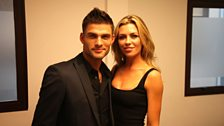 Model couple Abbey and Aljaz