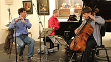 The London Conchord Ensemble play Weber's Flute Trio in G Minor Op.63 at Champs Hill