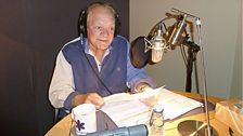 Sir David Jason during the script recording in London