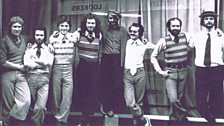 The staff of Stop Frame Productions (later Cosgrove Hall) including a certain Bernard Sumner © FremantleMedia