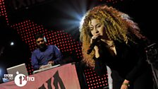 Ella Eyre performs with Naughty Boy