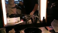 Peter in make-up 2
