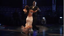 Patrick and Anya dance the Foxtrot