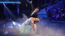 Fiona and Anton dance the Waltz
