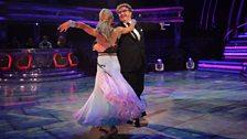 Mark and Iveta dance the American Smooth