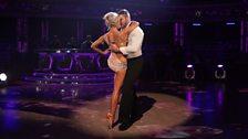 Ben and Kristina dance the Rumba
