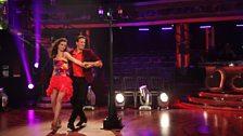 Sophie and Brendan dance the Samba