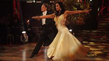 Susanna and Kevin dance the Waltz