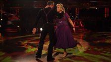 Vanessa and James dance the Tango
