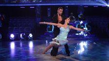 Natalie and Artem dance the Rumba