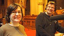 Rev Maggie McTernan and Rev Scott Robertson