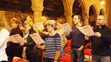 Members of Glasgow Chamber Choir