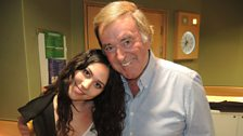 Eliza Doolittle with Sir Terry
