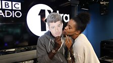 Yasmin gets cosey with Robin Thicke... wait...