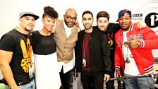 Rudimental hang out with Mistajam & Yasmin