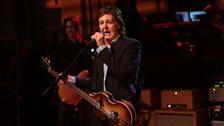 Paul McCartney at 6 Music Live