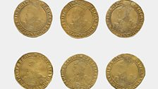 A Group of gold coins £1 sovereign