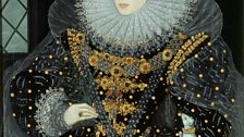 Queen Elizabeth I, The 'Ermine' Portrait - Attrib Nicholas Hilliard 1585