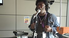 Charles Bradley in session