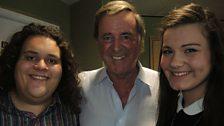 Jonathan & Charlotte with Sir Terry