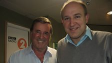 Tim Vine with Sir Terry