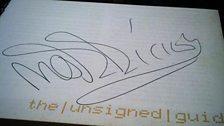 Morrissey's autograph