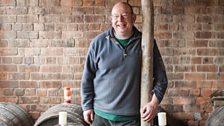 Tom Oliver, cider maker. Photo: Bill Bradshaw