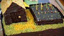 Episode 8 - Quarter Finals - Ruby's Carrot Cake & Pistachio Garden Plot