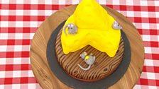 Episode 8 - Quarter Finals - Beca's Spiced Butternut Squash & Pecan 'Cheese' Cake