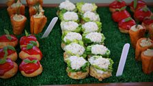 Episode 9 - French Week - Frances' Choux Pastry Tomatoes, Chantenay Carrots and Cauliflower Cheese Scones