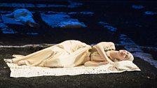 Glyndebourne Tour 2013. The Rape of Lucretia. Lucretia (Claudia Huckle).