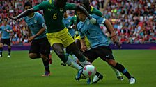 London Olympics 2012 football Uruguay v Senegal